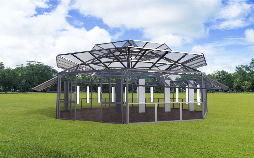 Blu Room Technology + Greenhouse = Blu Gro House